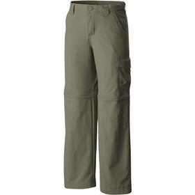 Columbia Silver Ridge III Convertible Pantalones Niñas, cypress